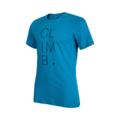 Ανδρικό T-shirt Mammut Massone Imperial melange - Jay