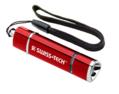 Mini Stretch LED Flashlight Red