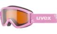 Μάσκα Uvex speedy pro - Pink snowflake - lasergold (S2)