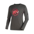 Ανδρικό T-shirt Mammut Logo LS Graphite melange