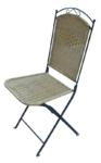 Καρέκλα COMO Μεταλλική μασίφ
