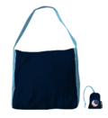 Bag Ticket to the moon 40 lt - Navy - Sky Blue (0631)