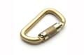 Καραμπίνερ Ασφαλείας Αυτόματο Fixe Climbing Ilos Steel Gold