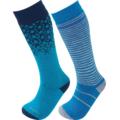 Κάλτσες παιδικές Lorpen Kid's Merino Ski Sock - 2 Pack Blue