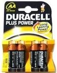 Μπαταρία Αλκαλική Duracell Plus AA