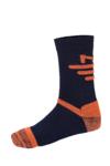 Κάλτσες Milo Amedi Abyss Blue - Red