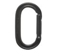 Καραμπίνερ Black Diamond Oval Keylock Black