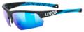 Γυαλία Uvex sportstyle 224 - Black mat blue - mirror blue (S3)