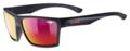 Γυαλία ηλίου lifestyle Uvex lgl 29 black mat - mirror red (S3)