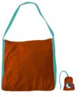 Οικολογική Τσάντα Ticket to the moon 40 lt - Orange - Turquoise