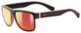 Γυαλία ηλίου Uvex lgl 21 - Black mat red - mirror red (S3)
