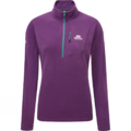 Γυναικείο Fleece Mountain Equipment Micro zip T Foxglove