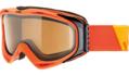 Μάσκα Uvex g.gl 300 pola - Orange mat - pola brown clear (S2)