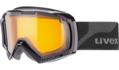 Μάσκα Uvex apache II LGL - Black - lasergold lite clear (S1)