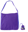 Οικολογική Τσάντα Ticket to the moon 20 lt - Purple  (3030)