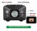 Φακός κεφαλής Alpin 210 Lumens + Sensor