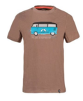 La Sportiva T-shirt Van Men Falcon Brown