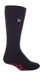 Ανδρικές Heat Holders Slipper Socks Black - Red