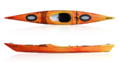 Sea Kayak DAG Tiwok Evo Luxe Red - Yellow
