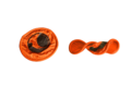 Ticket to the moon Pocket Frisbee Orange