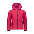 Παιδικό SoftShell Jacket CMP Fix Hood Rhodamine - Fuxia Fluo
