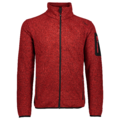 Ανδρικό Fleece Jacket CMP lime Ferrari - Nero
