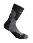 Παιδικές κάλτσες ορειβασίας CMP Kids Trekkng Sock Wool Mid Black