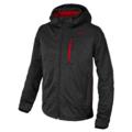 Ανδρικό Soft Shell Jacket CMP Zip Hood Nero mel