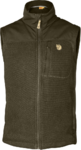Fleece Fjall Raven Buck Vest Dark Olive (633)