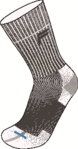 Κάλτσες Fuse Mountaineering NT A100