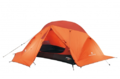 2-person tent for 4-season use, with aluminium poles and radial