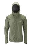 Ανδρικό Αδιάβροχο Jacket Rab Downpour Field Green