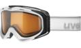 Μάσκα Uvex g.gl 300 pola - White mat - pola brown lasergold (S2)