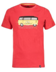 La Sportiva T-shirt Van Men Cardinal Red