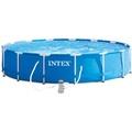 Πισινα Intex Metal Frame 28242 - 457x122cm