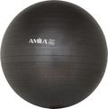 Μπάλα Γυμναστικής Amila Gymball 75cm Μαύρη