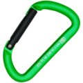 Καραμπίνερ Απλό Kong Mini D Alu Green