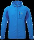 Fleece Mountain Equipment Eclipse Jacket Finch Blue - Lapis