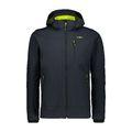 CMP Man Soft Shell Jacket Zip Hood Antracite-Cedro