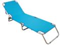 Ξαπλώστρα Αλουμινίου Summer Club Textilene με μαξιλάρι