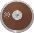 Δίσκος γαλβανισμένος IAAF Aproved 1000 gr