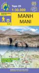 Πεζοπορικός Χάρτης Μάνη [8.4]
