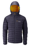 Rab Πουπουλένιο Men's Microlight Alpine Jacket Beluga
