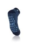 Ανδρικές Twist Ankle Slipper Socks Navy with Denim Grip