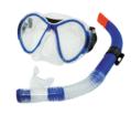 Set μάσκα - αναπνευστήρα TPP Blue Wave Laro