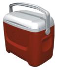 Ψυγείο Igloo Island Breeze 28 Κόκκινο