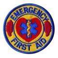Ραφτό Σήμα Emergency First Aid