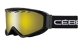 Μάσκα Σκι Cebe Infinity Otg - Black Yellow FM Cat.1