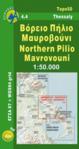 Πεζοπορικός Χάρτης Βόρειο Πήλιο - Μαυροβούνι [4.4]