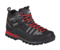 Μποτάκι πεζοπορίας Karrimor Spike Mid 3 weathertite Black-Red